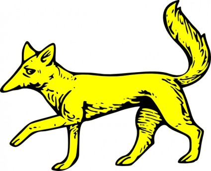 425x344 Fox Clip Art Download