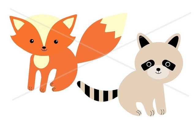 640x400 Fox With Book Clipart Kid