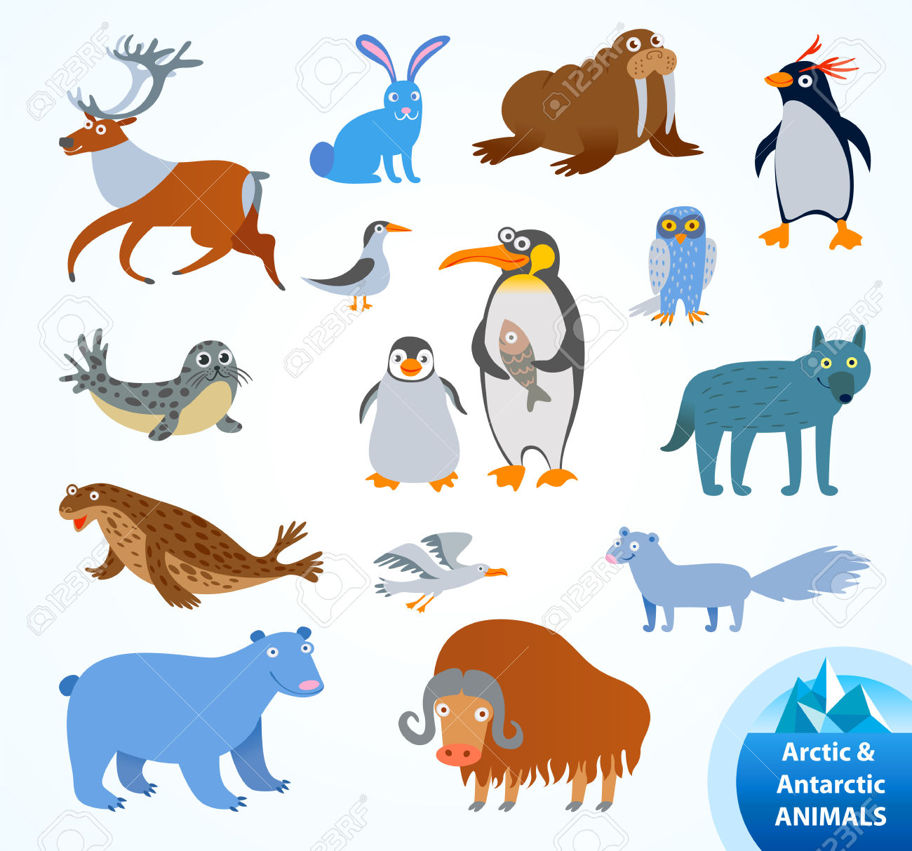 1300x1213 Arctic Fox Clipart Antarctic Animal 3035990