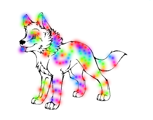 603x473 Collection Of Wolf Pup Clipart High Quality, Free Cliparts
