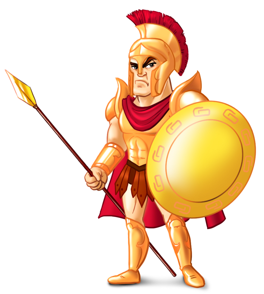 876x977 Ares Clipart