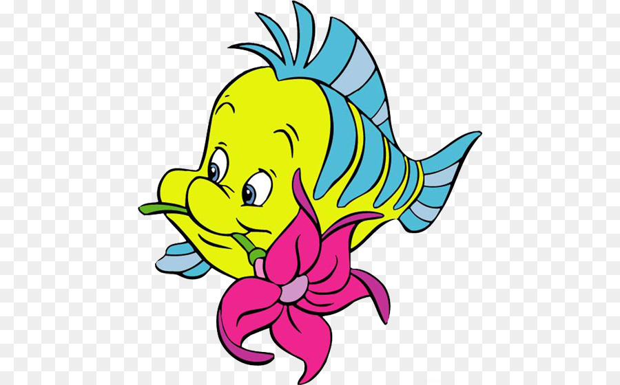 900x560 Ariel Sebastian Flounder Clip Art