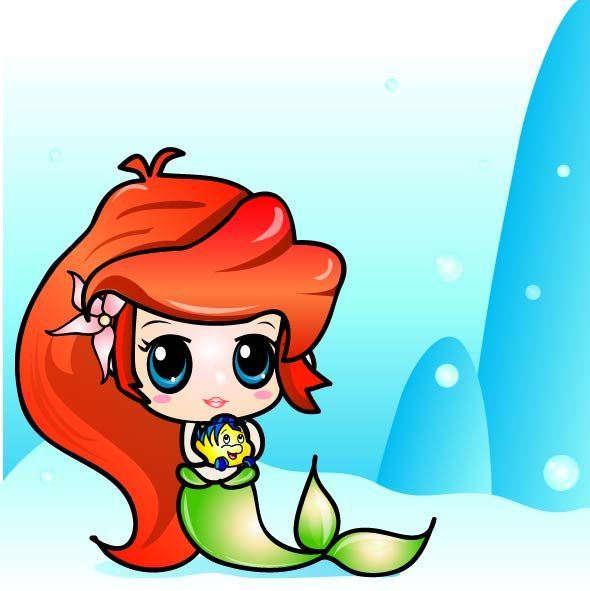 Ariel The Little Mermaid Clipart At Getdrawings