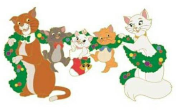 361x231 Surprise Aristocats Holiday Pin