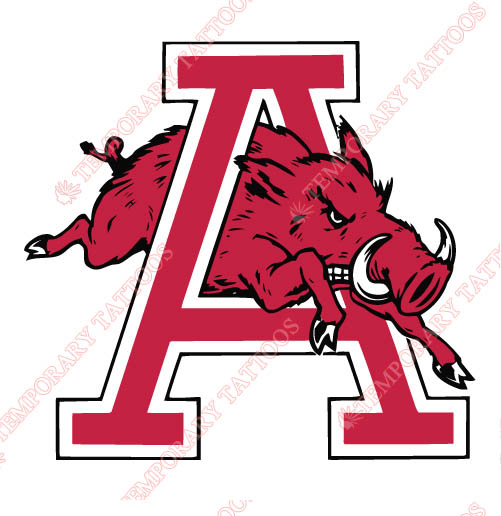 501x516 Arkansas Razorbacks Temp Tattoos Customize Temporary Tattoos