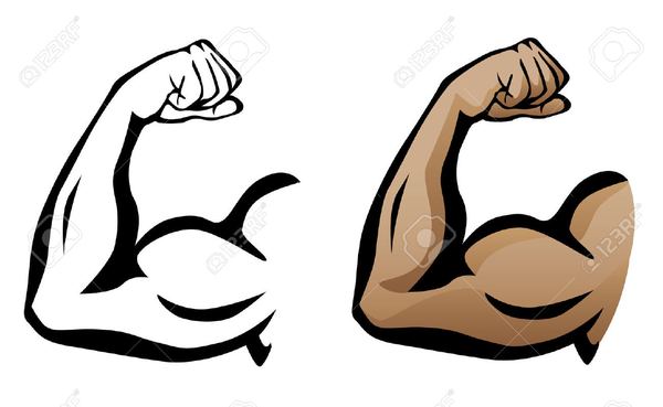 600x369 Flexing Arm Clipart Free Images