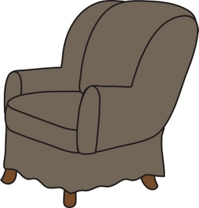 286x300 Free Arm Chair Clipart Image 0071 0811 0416 5448 Furniture Clipart