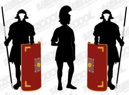 425x313 Free Samurai Armor Silhouette Clipart And Vector Graphics