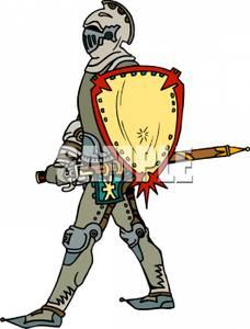 228x300 A Knight In Armor