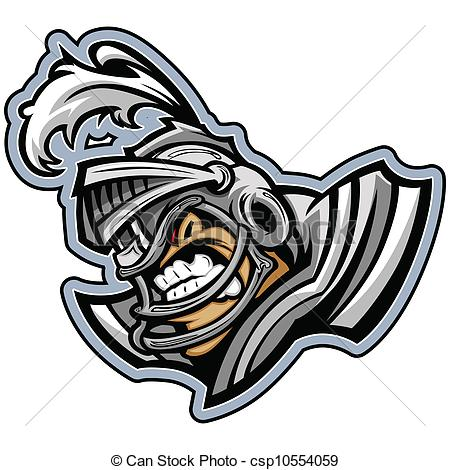 450x470 Graphic Vector Sports Lmage Of A Snarling American Football