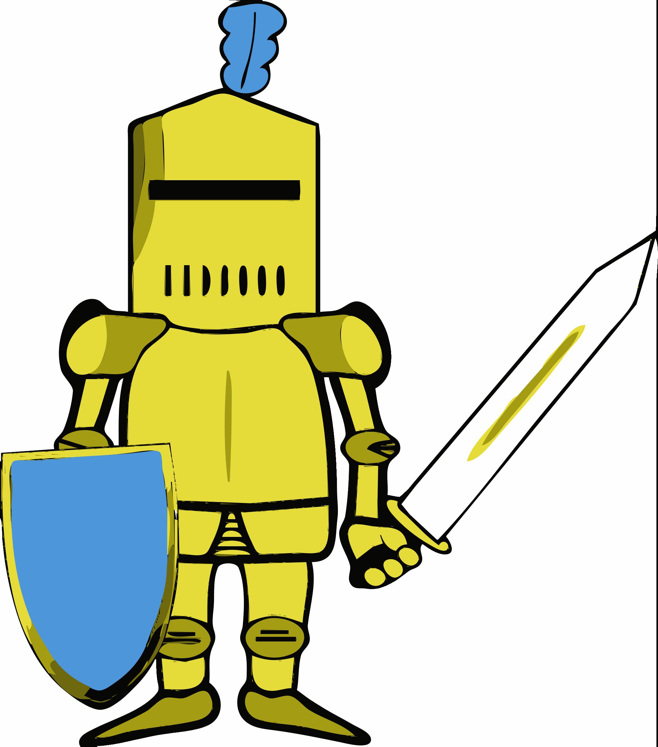 2115x2400 Knight Clipart Yellow