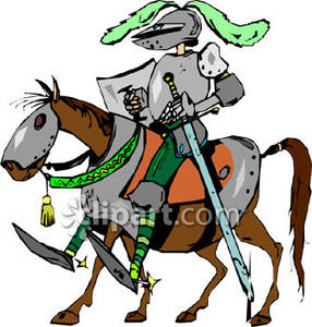 286x300 Man In Armor Clipart