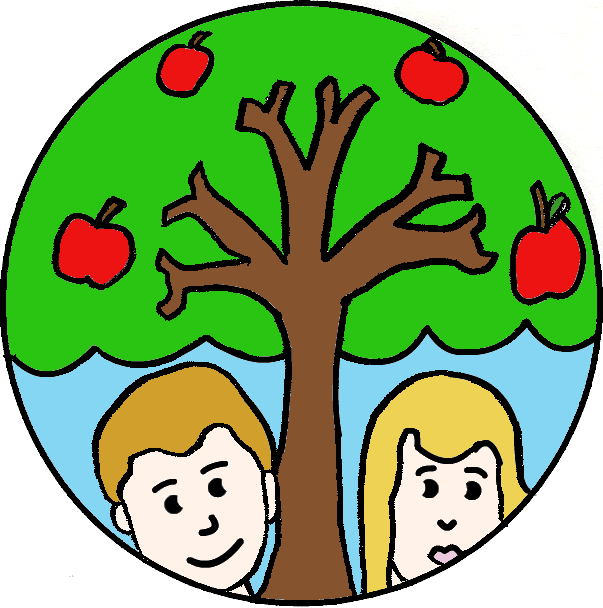 603x608 0 Adam And Eve Clipart Clipart Fans