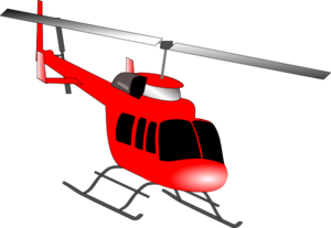 300x207 Helicopter Clip Art