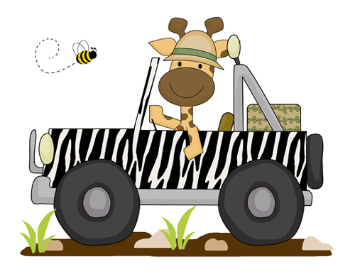 500x386 Collection Of Jungle Jeep Clipart High Quality, Free
