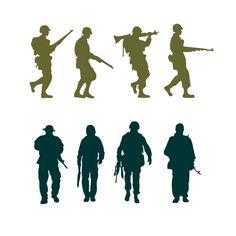 Army Man Clipart