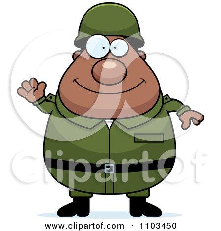 450x470 Royalty Free (RF) Black Army Man Clipart, Illustrations, Vector