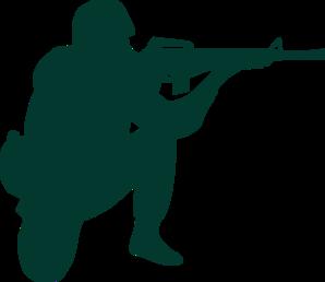 298x258 Soldier Clip Art