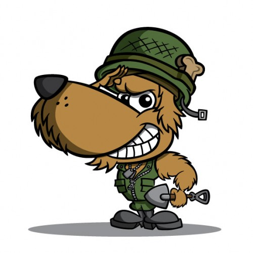 500x500 28+ Collection of Military Dog Clipart High quality, free