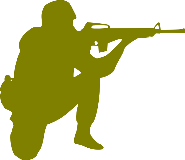 600x520 Military Soldier Clipart