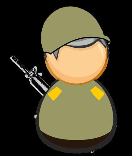 421x500 976 Us Army Soldier Clipart Public Domain Vectors