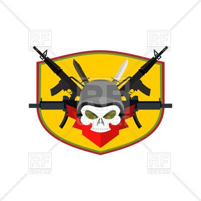 400x400 Soldier Clipart Military Emblem