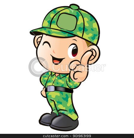 450x464 Cool Clipart Military Soldier