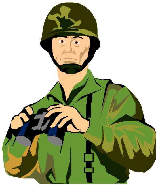 549x645 Animated Clipart Soldier Saluting Collection