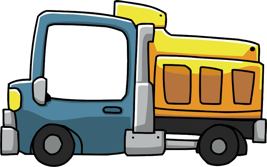 930x581 Cartoon Truck Clipart
