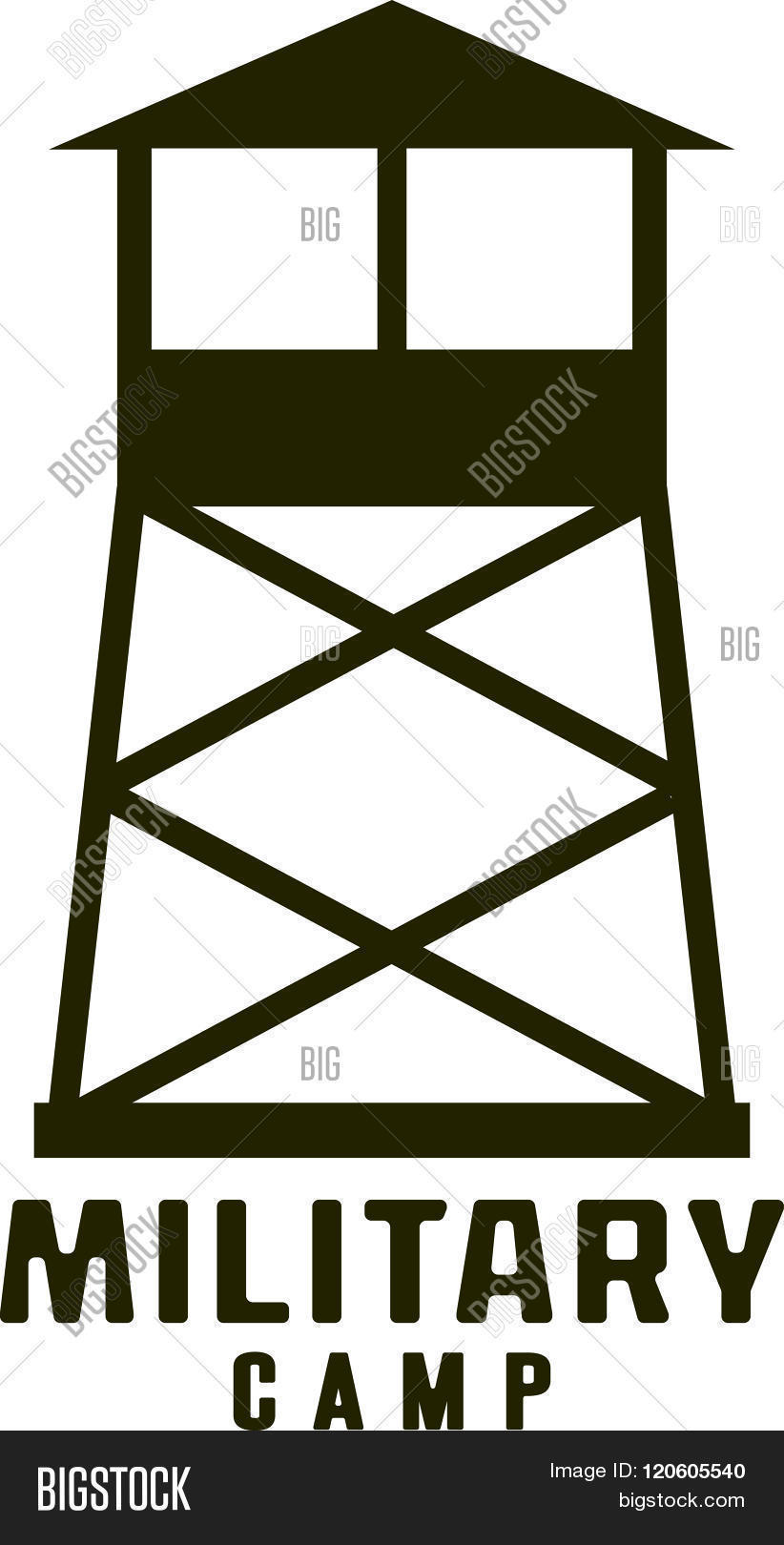 822x1620 Military Camp Clipart