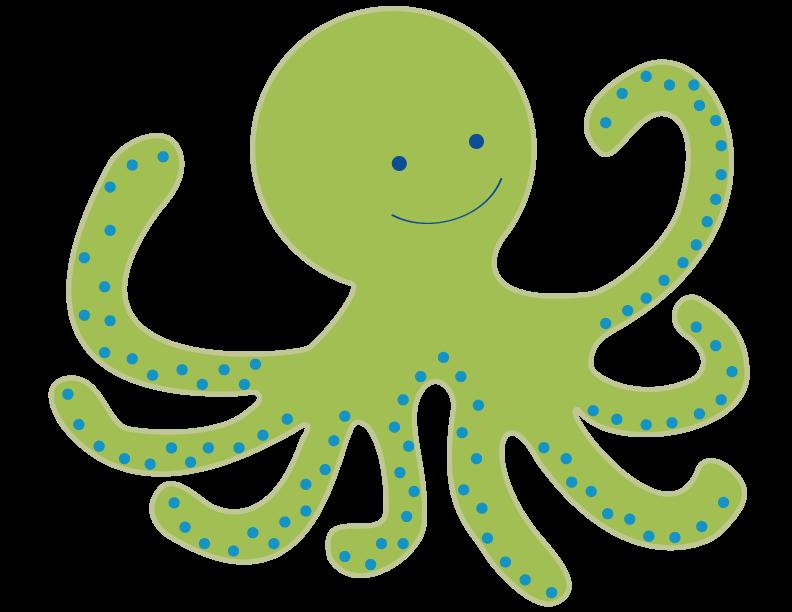 792x612 Baby Octopus Clip Art Clipart