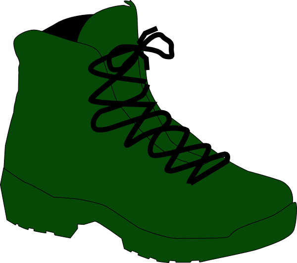600x530 Clipart And Army Boots
