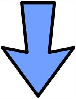 269x350 Down Arrow Clipart