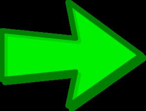 299x228 Green Arrow Green Clip Art