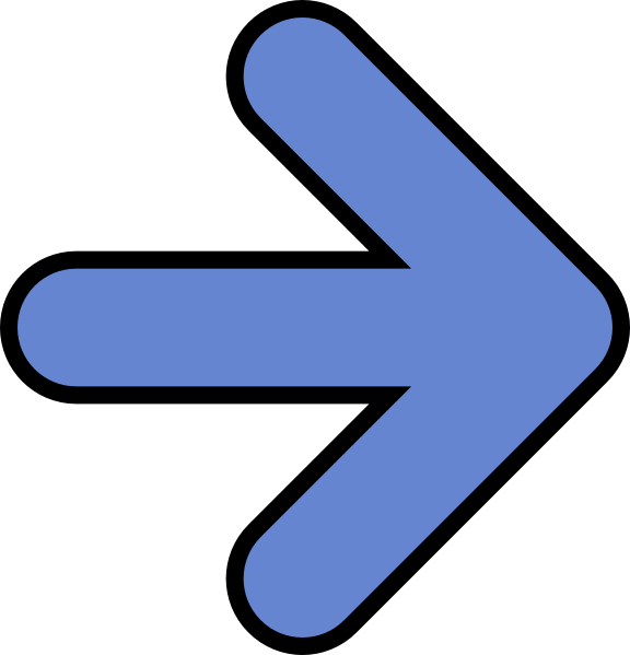 576x599 Image Of Right Arrow Clipart