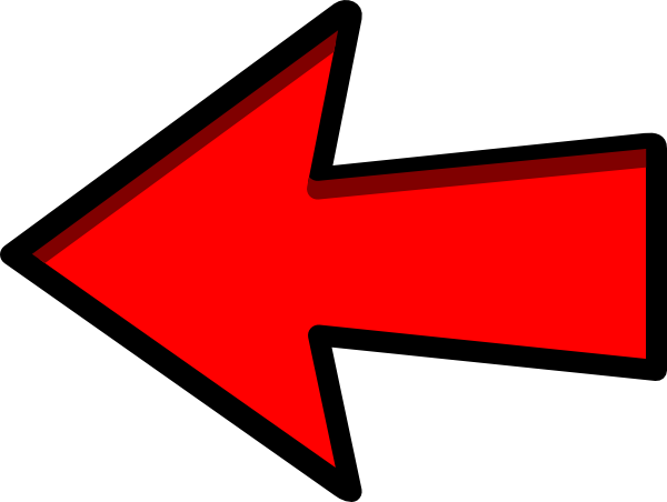 600x452 Clipart Arrow Left Red Arrow Clip Art