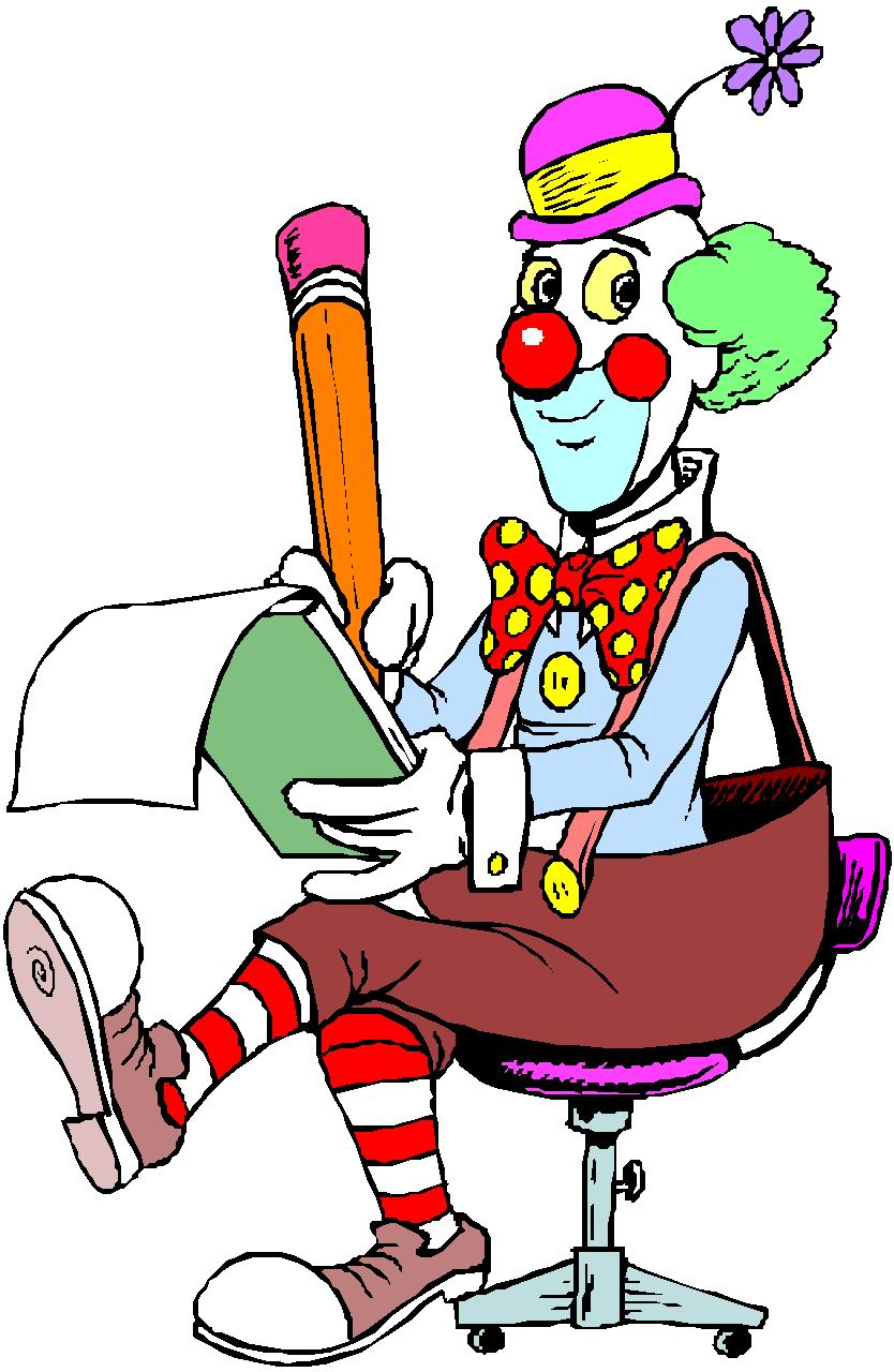 834x1280 Clip Art Entertainment Clowns