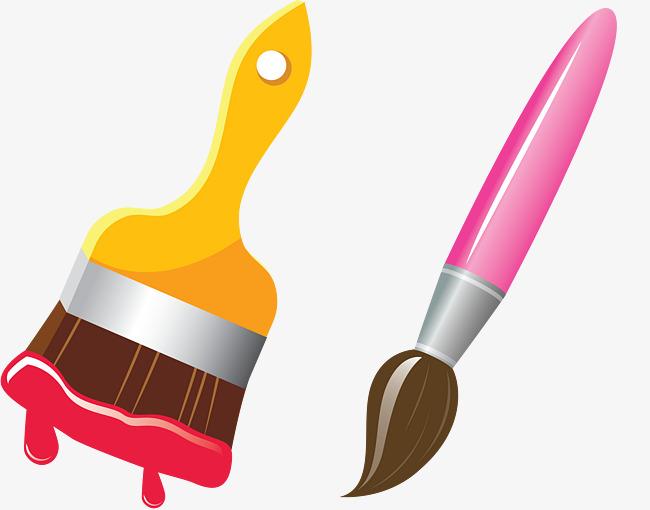 650x510 Art Class Brush, Paint Brush, Art Brush, Art Class Png Image