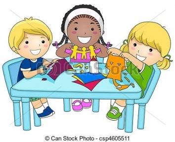 354x287 Kids Making Crafts Clipart Craft Get Ideas