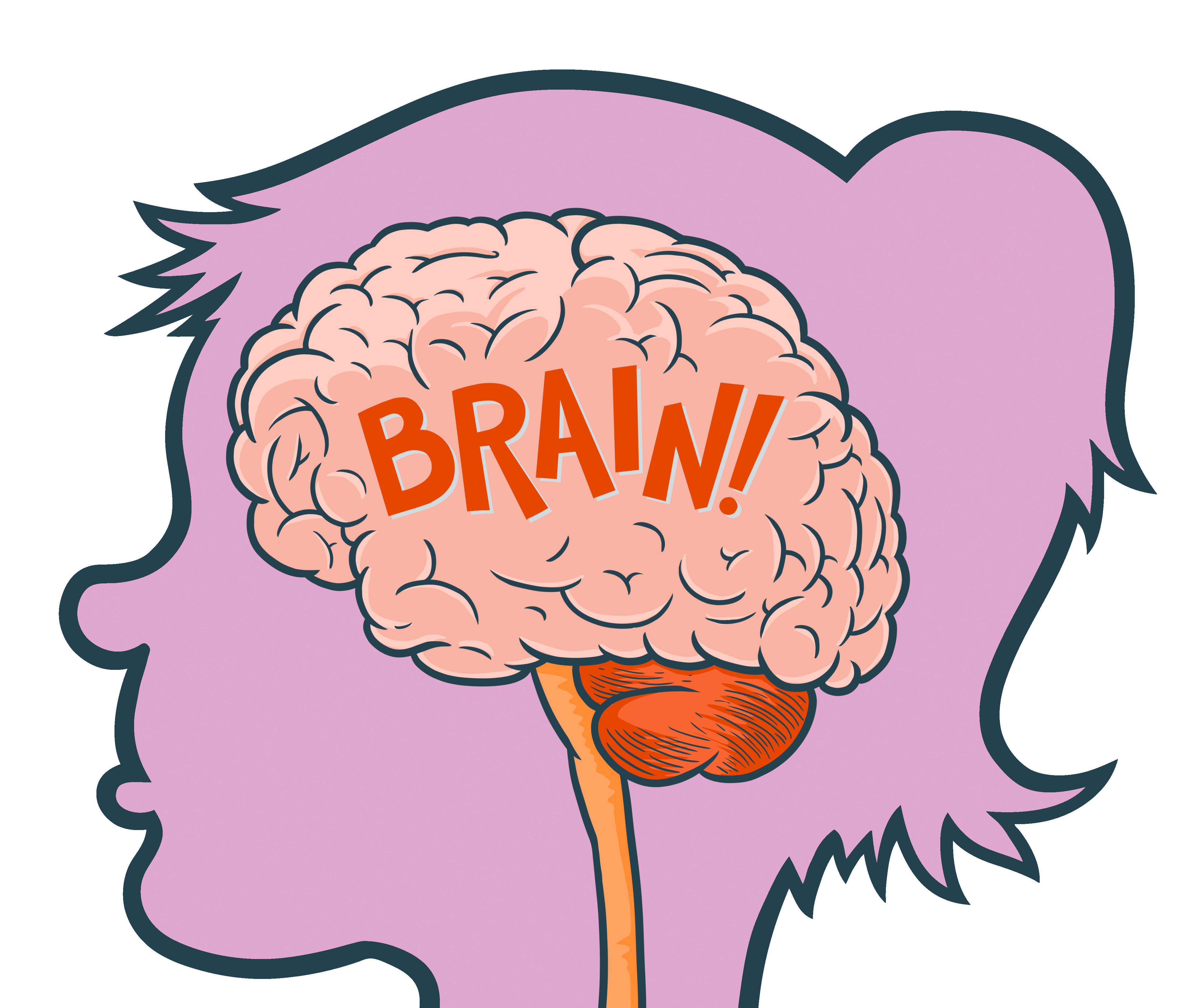 4444x3744 Brain Clipart For Kids