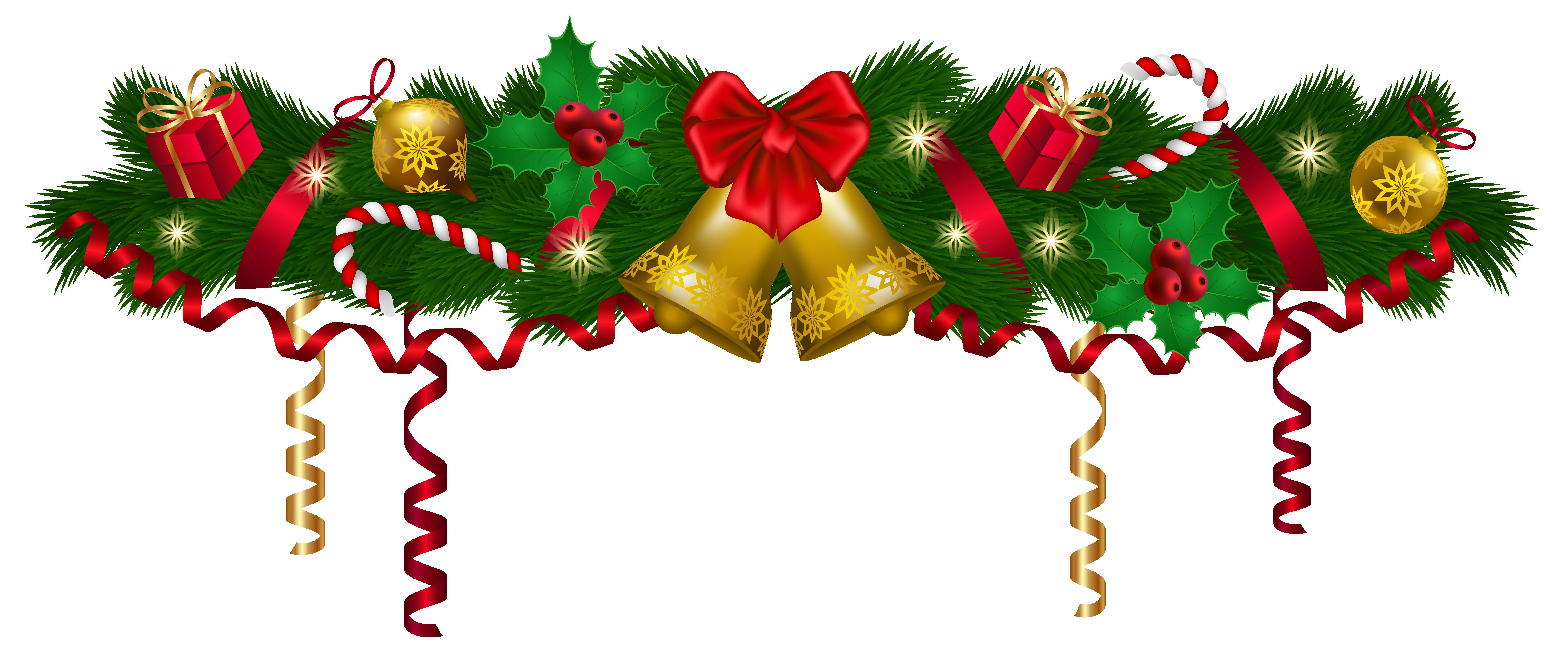 6193x2612 Christmas Deco Garland Png Clip Art Imageu200b Gallery Yopriceville
