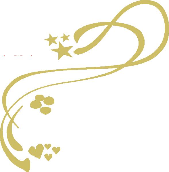 588x598 Gold Design Clip Art