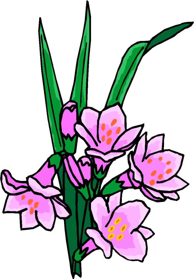 680x975 Clip Art String Of Flowers Clipart