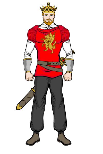 400x600 Topic King Arthur Heromachine Character Portrait Creator