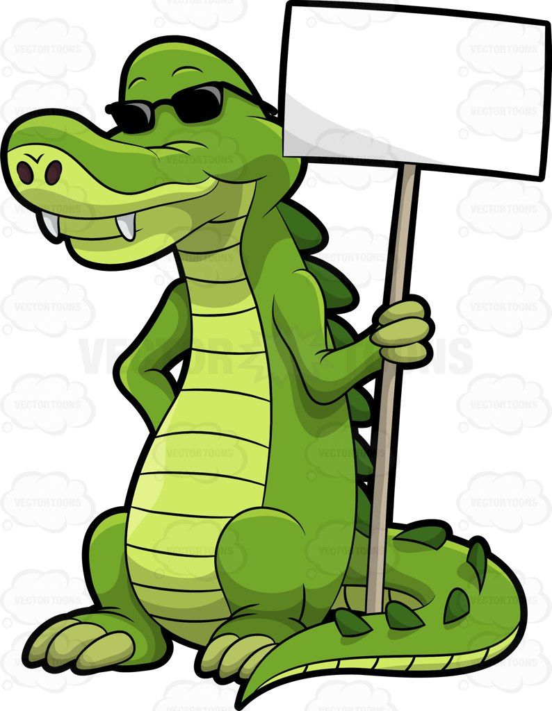 794x1024 Arthur The Alligator Holding A Signboard Alligators And Svg File