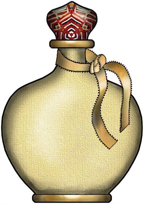 470x664 Pretty Bottle Clip Art Clip Art