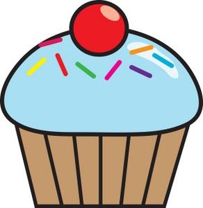 292x300 Top 91 Cupcakes Clip Art