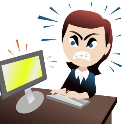 425x425 Angry People Clip Art