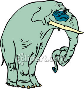 284x300 Clipart Elephant Sad Amp Clip Art Elephant Sad Images