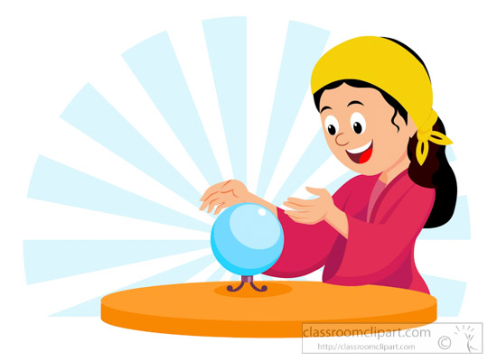 550x400 Astrology Clipart Astrologer With Crystal Ball Clipart 615